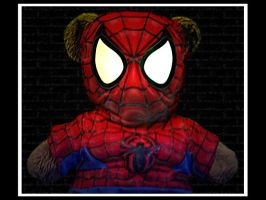 Spider-Man Teddy by crazySmiley