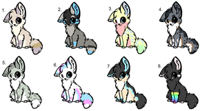 Adopts 2 - CLOSED by Wildstaar-Adopts