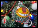 Catbus Christmas Ball Ornament by Leara