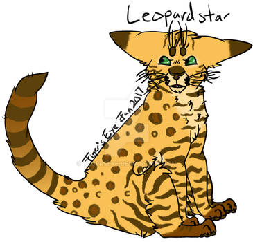 Day 6 of WC Challenge: Leopardstar by Tigerpool