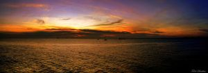 Exotic Sunset Panorama by mecengineer