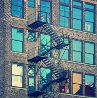 Staircase Mannequins by jonniedee