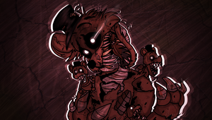 Nightmare Freddy - FNAF 4 by Sniperisawesome