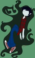 Marshall Lee for Robyn by Red-Hime