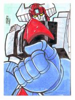 Danguard Ace Sketch Card by fbwash