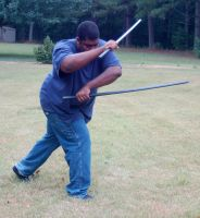 Samurai Kevin Dual  Swords 14 by themuseslibrary