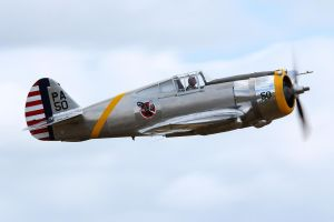 Curtiss P-36C Hawk by Daniel-Wales-Images
