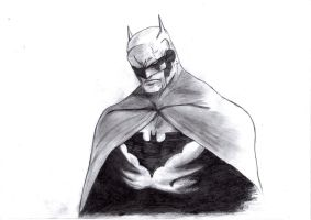 Batman -Jim Lee style- by PolishTank48