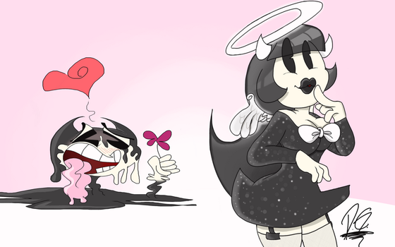Bendy x Alice by MrPakoMan