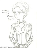 Captain America by ThePastelHobbit