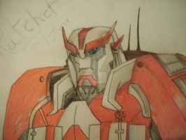 Transformers Prime Ratchet by TFGlider