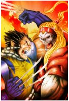 O.R. vs Wolvie final color_? by vctr-c