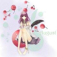 August is for Cherries by cafe-au-pink