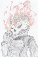 All Hail The Ghost Rider by Gabbyartisto3o