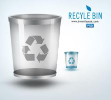 Recycle Bin Icon by atifarshad