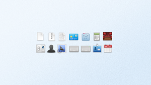 A set of small icons by framedrop