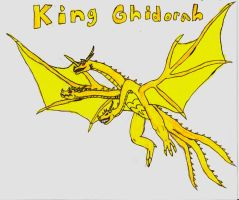 King Ghidorah Bio GTS:WFE by supergoji18