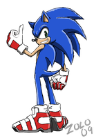 Sonic'09 by ProffessorZolo