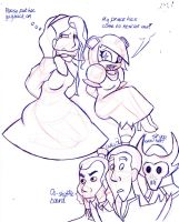 The Misadventures of Constance and PMS by drawitbig