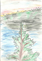 Water Color Tree. by ergman
