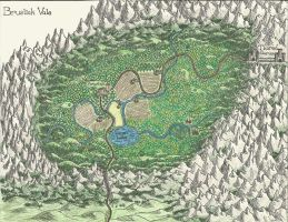 Bruslick Vale Map by redambrosia