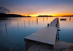 Calm evening by Sekundkvadrat