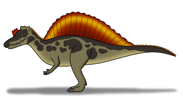 Spinosaurus (Outdated Pose) by AwkwardDoge