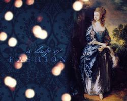 A Lady of Fashion wallpaper by olde-fashioned