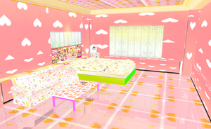 MMD Stage KANDI BEDROOM by amiamy111