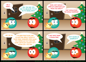 SC436 - Opening Gifts Early by simpleCOMICS