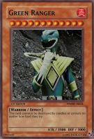 Green Ranger YuGiOh Card by TheBlastoise