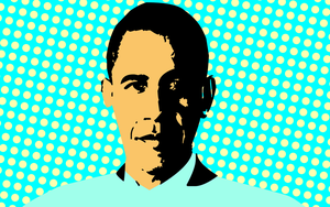 President Barack Obama Pop Art by Jeramiah327