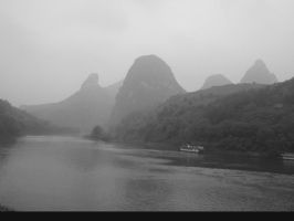 River in Yangshuo by aletia