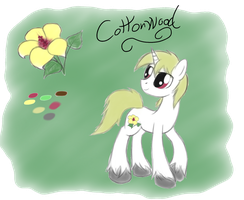 Cottonwood - OC by Xeirla