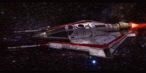 Star Wars T-20 Incom H-Wing by AdamKop