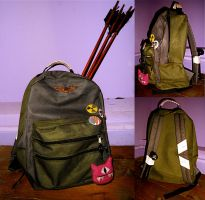 Ellie's backpack by Nerdbutpro