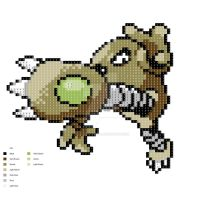 Hitmonlee Pattern by H3LLoK66aren99