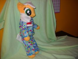 AppleJack has cute PJs by digigirl789
