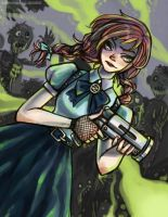 Dorothy in Zombieland by SUPERNEOON