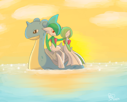 In the Sunset by BluuKiss