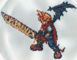 Kingdom Hearts Cloud Strife by StitchPlease