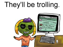 My View of a Troll by TheCreatorOfSoften