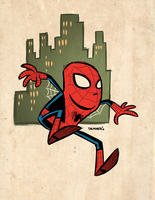 Spider-Man by thecheckeredman