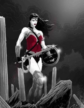 Wonder Woman by Fuacka