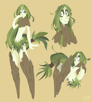 Osier the Dryad by raygirl