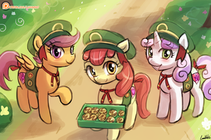 Want some cookies? by luminaura