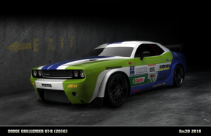 Dodge Challenger GT-R by MaxEvil3D