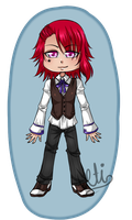 Chibi Dresden by TheULTImateAngel
