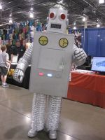 Robot at MCCC by LotusOfTheLeaf