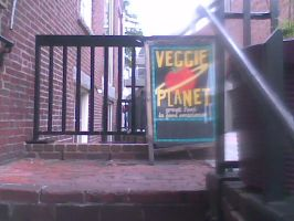 Entrance to Veggie Planet by Flaherty56